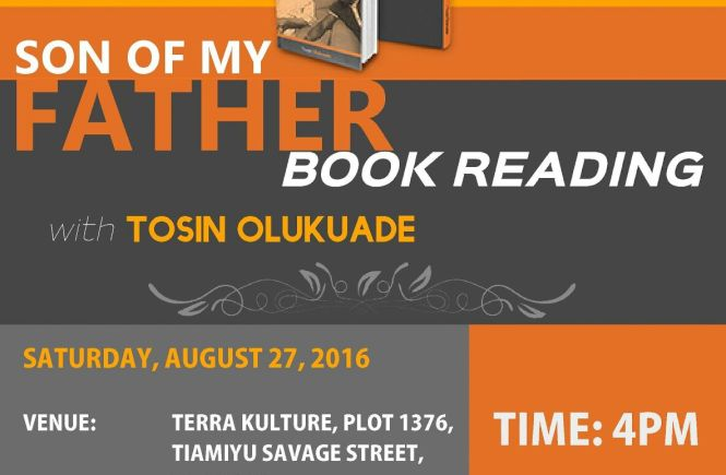 Book Reading Event: Son Of My Father - elsieisy blog
