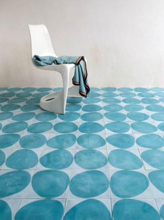 Mueble Baño Azul Turquesa:Pintar muebles de Azul Turquesa – El Taller de lo Antiguo