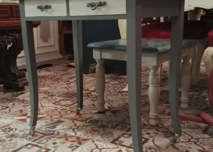 Pintar dormitorio de melamina con pintura de tiza for Pintar muebles barnizados