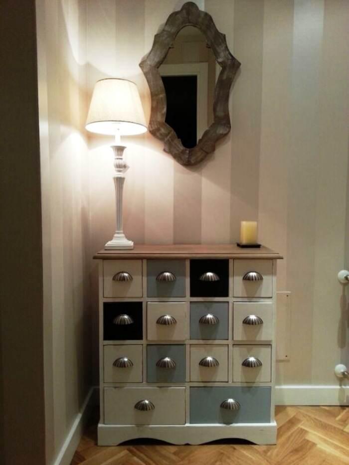 Reinventa con pintura de cl sico a moderno el taller - Modernizar muebles antiguos ...