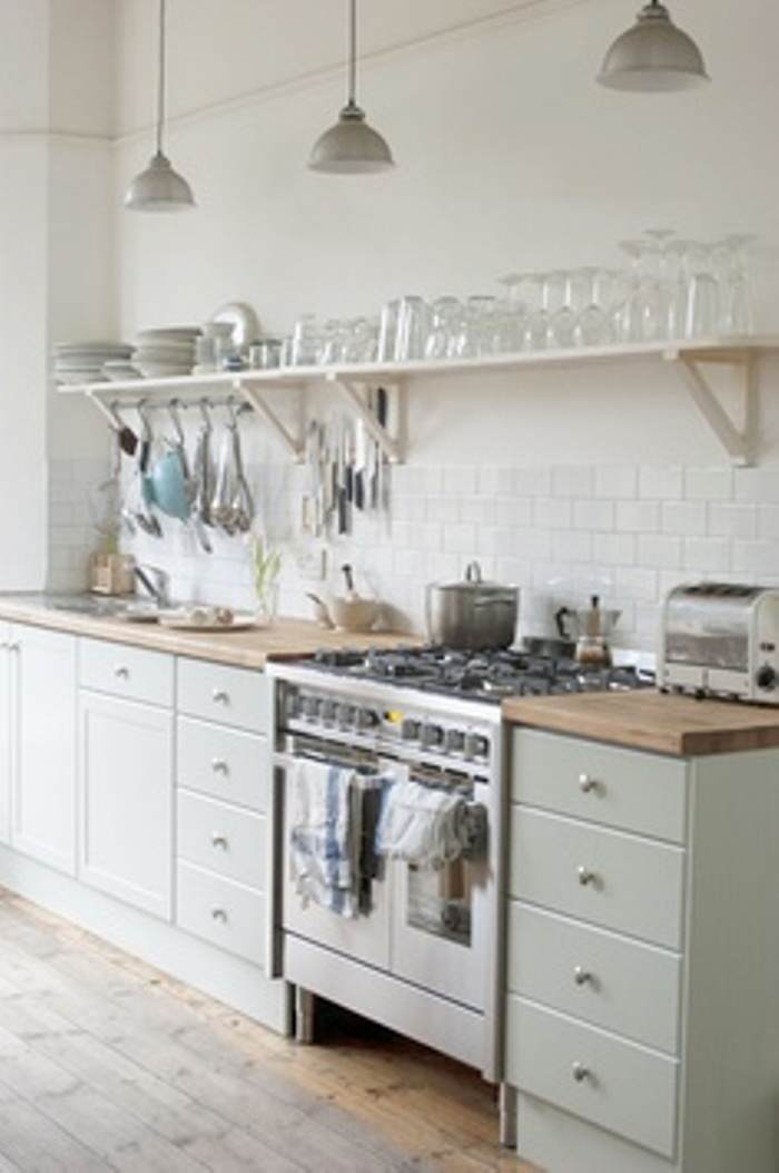 Ice White paint kitchen