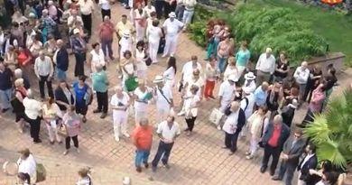 Felicitan a los mayores de la isla de La Gomera por el Día Internacional del Mayor