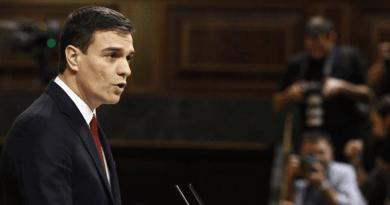 Pedro Sánchez reta al Comité Federal del PSOE a que decida mañana sobre la abstención a Rajoy