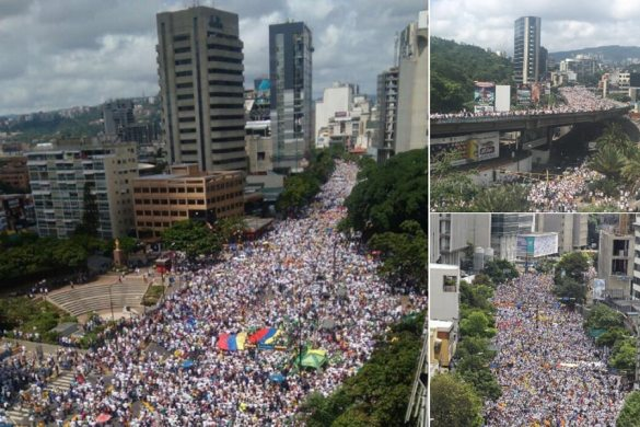 Manifestación-Venezuela