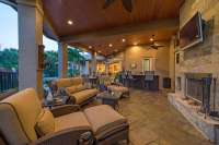 Tongue And Groove Ceiling Outdoor Patio