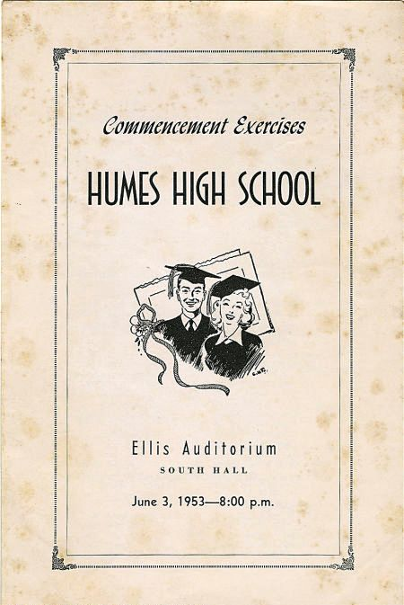 Elvis\u0027 High School Memorabilia ElvisBlog - graduation program covers