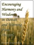 Encouraging Harmony and Wisdom by Haadi Al Madkhali