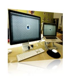 "MacBook Pro 15"" & Apple 24"" LCD Display"