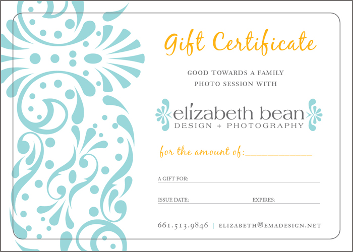 gift voucher layout - deodeatts - business gift certificate template free
