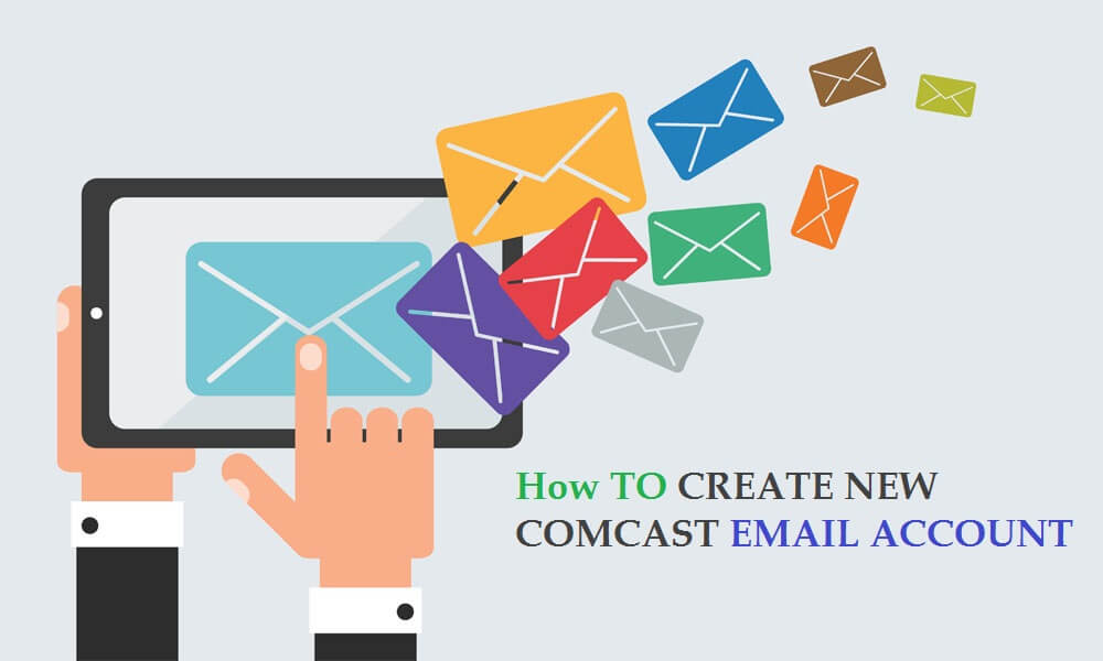 How to create new Comcast email account