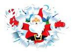 Santa Email Stationery Christmas