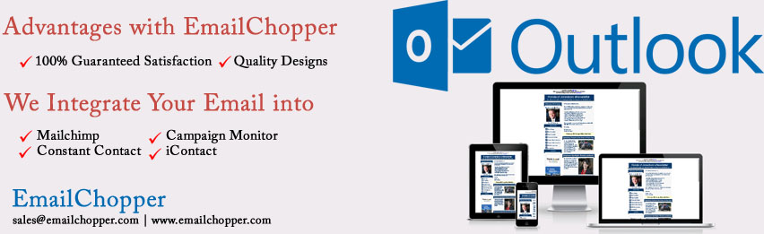 Responsive Email Templates For Outlook 2007, 2010  2013 Email Chopper
