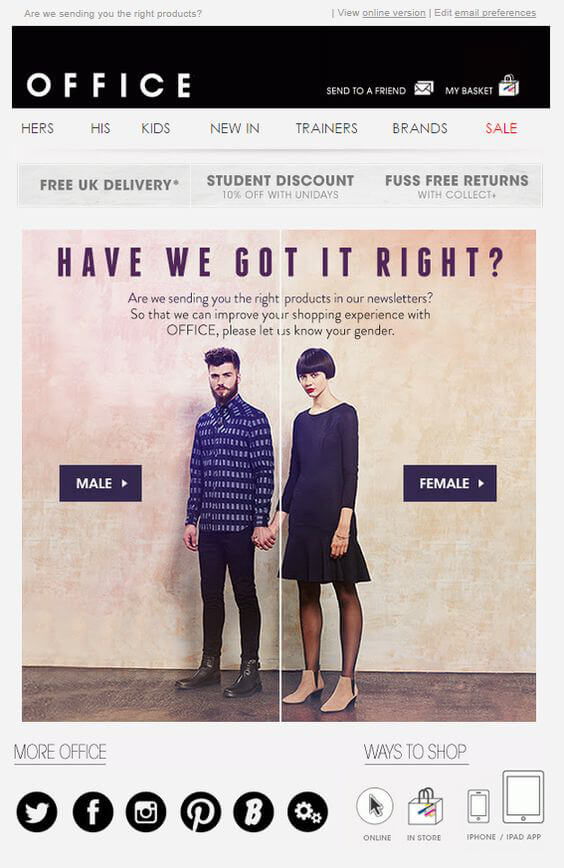 Email Personalization New Dynamics to WOO Subscribers - personalized e mail