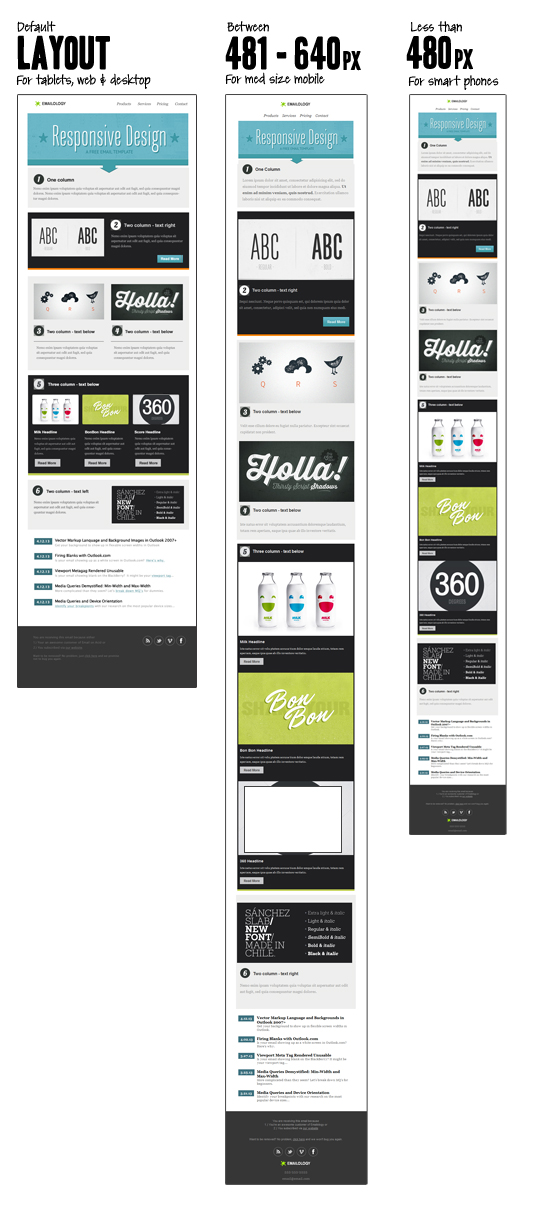 Free Responsive Email Template Responsive Email Design