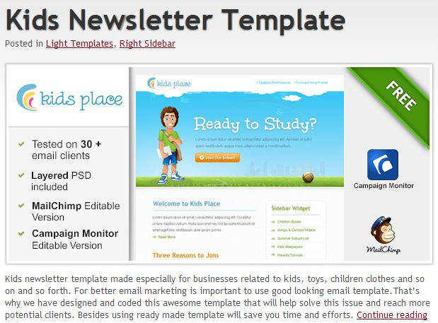 600+ Free Email Templates Jumpstart Your Email Design - business email template
