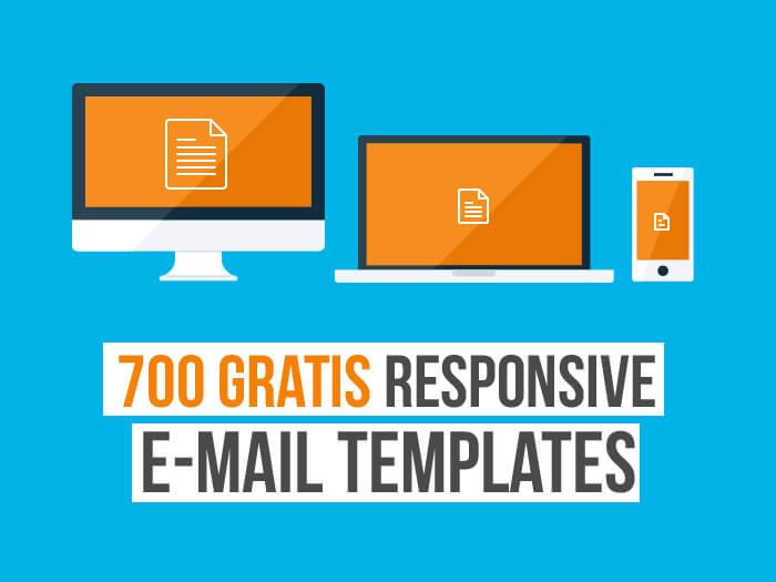700 kostenlose Newsletter Templates (alle responsive!)