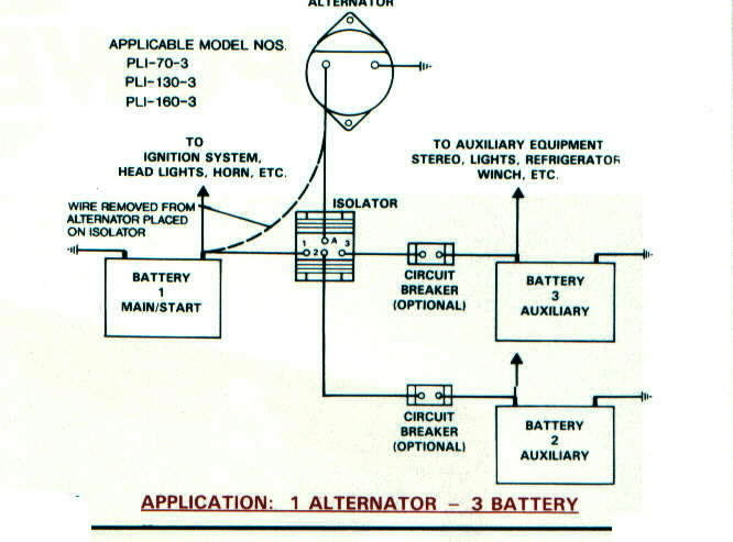 Battery Isolators - e Marine Systems