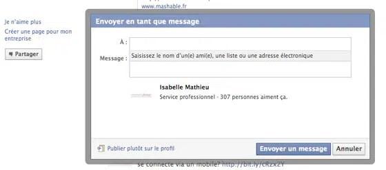 page-facebook-envoyer-message