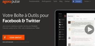 agorapulse twitter facebook