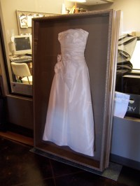 Shadow Box For Wedding Dress