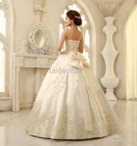 Big Bow Wedding Dress