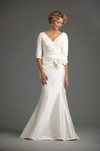 Second Wedding Dress Over 50