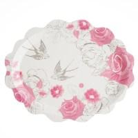 Wedding Paper Plates