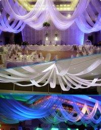 Wedding Decorations Ceiling Drapes