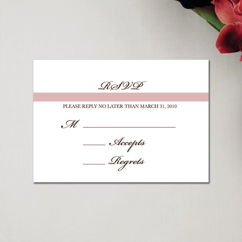 wedding invite reply card - Vatozatozdevelopment