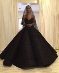 Black Wedding Gowns