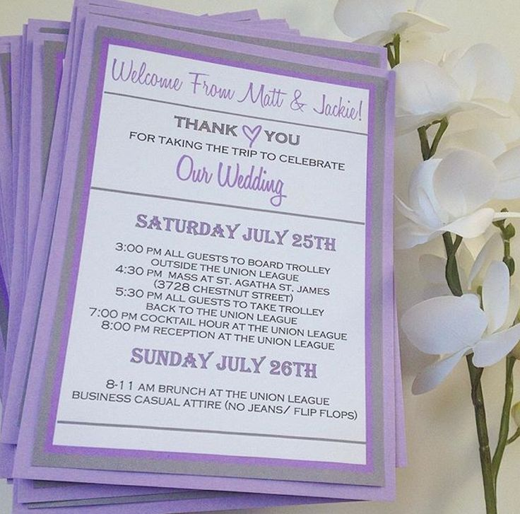 Wedding Welcome Cards FC97 \u2013 Advancedmassagebysara