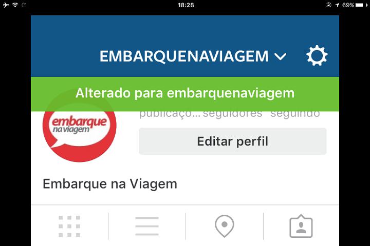 Instagram já liberou acesso para múltiplas contas