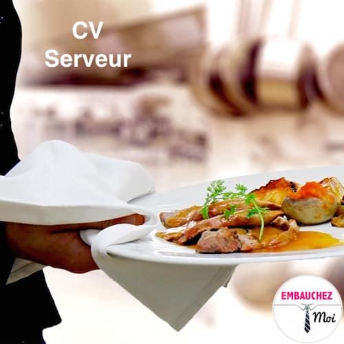 que mettre dans un cv pour serveuse restaurant