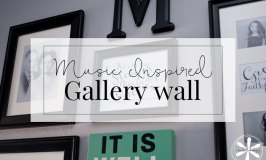Gallery Wall inspired by Music