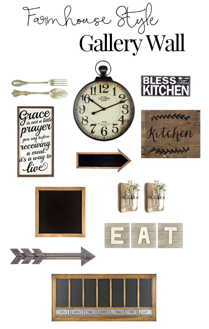 Modern Wall Decor For Kitchen : Rustic gallery wall inspiration for the kitchen