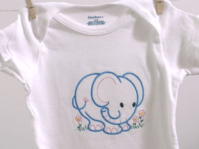 Machine Embroidery Designs at Embroidery Library! - Embroidery Library - onesies designs