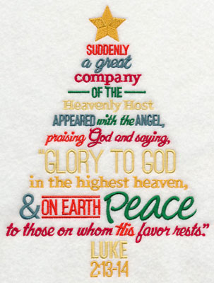 Machine Embroidery Designs at Embroidery Library! - Embroidery Library - christmas tree words