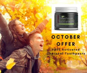 Have a natural dental cleaning experience in October at Embrace Dental Hygiene-Receive a FREE Activated charcoal toothpaste!