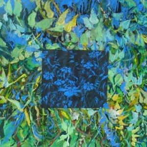 "Summertim Blues, Ed McCartan, acrylic on paper, 52x40"""
