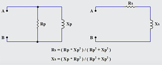 Converting Parallel RL Circuits to Series Equivalents EM Course