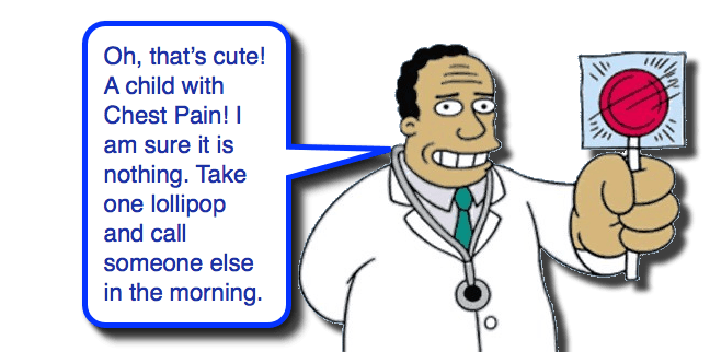 Pediatric Chest Pain
