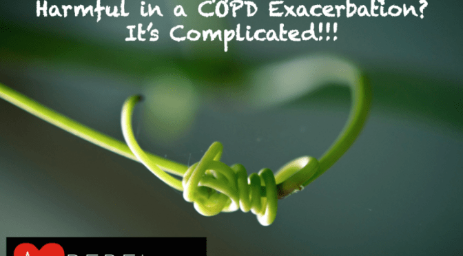 R.E.B.E.L. EM – Is Too Much Supplemental O2 Harmful in COPD Exacerbations?
