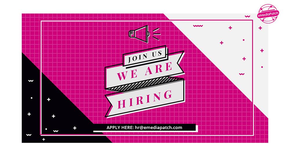 Apply for Internship! - eMedia Patch