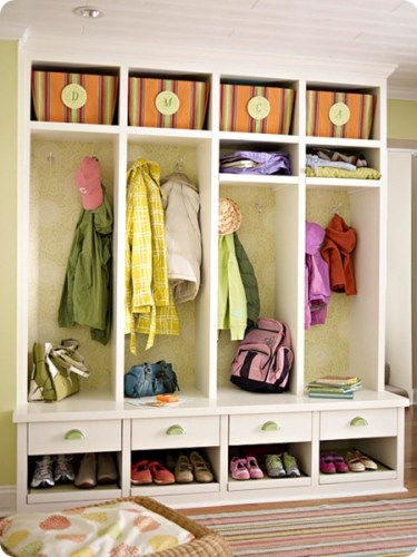 bhg mudroom 2 thumb 375x500 Can you have a trendy home and young children?