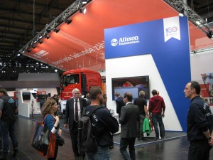 The Allison Transmission Both at INTERSCHUTZ