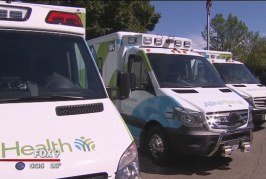 The new safer ambulance from Allina Health is ready to hit the road