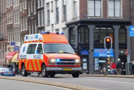 Why there is a paramedics' strike in Netherlands?