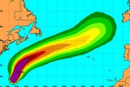 Heightened alert for Britain. Hurricane Joaquin arrive in 5 days
