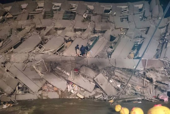Death toll from southern Taiwan earthquake rises to 35; more than 100 pulled out alive