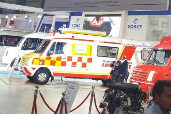 Automotive welcome a new segment: Ambulances and Emergency Vehicles